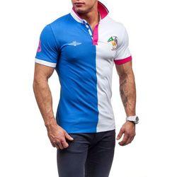 Niebieska koszulka polo męska Denley 3217 - NIEBIESKI Spodnie dresowe 39,99 06.10.2015 (-20%)