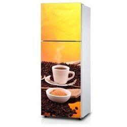 Naklejka na lodówkę - Kawa do pary - Naklejka laminowana