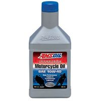 AMSOIL 10W40 Advanced Synthetic Motorcycle Oil (MCF) 0.946L