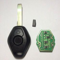 3 Button Diamond Remote Key For BMW E38 E39 E46 EWS System 433MHZ/315MHZ With PCF7935AS Chip HU92 Blade Excellent Quality