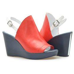 Sandały Carini B2492/M Czerwone