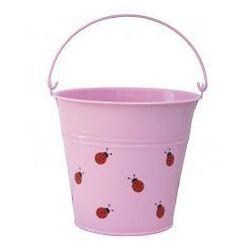 Wiaderko biedronki różowe