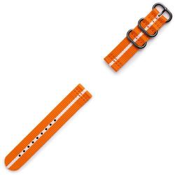 Samsung Gear Sport Premium Nato Strap GP-R600BREECAG Orange-white