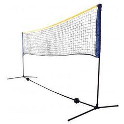 Siatka do siatkówki plażowej, badmintona lub tenisa
