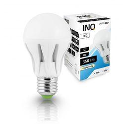 LED A60 E27 Eco 5W ciepło-biała - żarówka kulka LED INQ