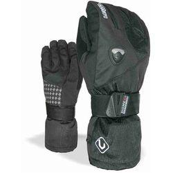 rękawice snowboardow LEVEL - Fly Jr Black (01) rozmiar: 6,5 (JR XL)