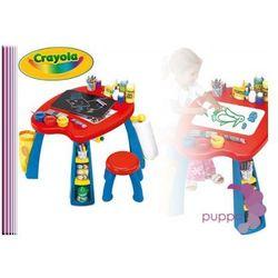 CRAYOLA STOLIK TABLICA Dwustronna CREATIVITY PLAY + krzesełko