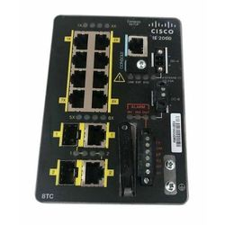IE-2000-8TC-G-E Switch Cisco IE2000 8 FE RJ54 ports, 2 GE Combo, Lan Base- 1588
