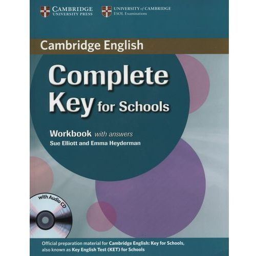 Complete KEY for Schools Wb with key + CD (opr. miękka)