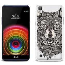 Fantastic Case - LG X Power - etui na telefon Fantastic Case - aztecki wilk