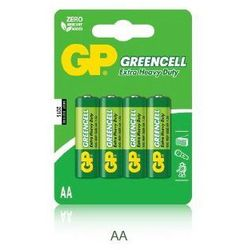 4 x Bateria AA/R6 GP GREENCELL