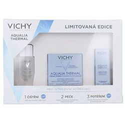 Vichy Aqualia Thermal Kit W Kosmetyki Zestaw kosmetyków 30ml Płyn micelarny Pureté Thermale 3in1 + 50ml Krem na dzień Aqualia Thermal Light + 3ml Krem nawilżający Aqualia Thermal Light