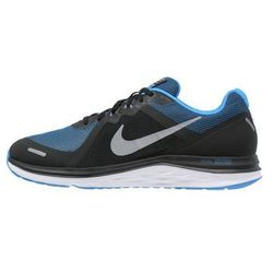 Nike Performance DUAL FUSION X 2 Obuwie do biegania Amortyzacja black/metallic cool grey/photo blue/white