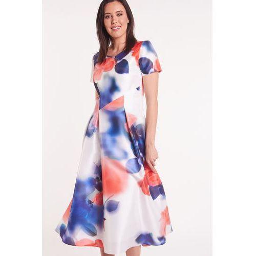 d7253b31 Elegancka sukienka w kwiaty GOLDA