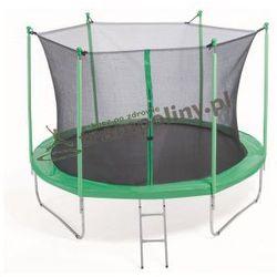 PLATINIUM 305 cm - Zestaw trampoliny z siatką zabezpieczającą