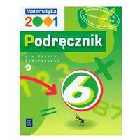 MATEMATYKA 2001 6 SP PODRĘCZNIK + PŁYTA CD (opr. miękka)