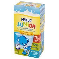 NESTLE JUNIOR 350g Mleko modyfikowane waniliowe dla dzieci od 1 roku ż
