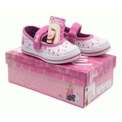 Barbie, wiosenne buty dla modnej dziewczynki Biały