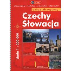 Czechy I Słowacja. Atlas Drogowy W Skali 1:200 000 (opr. miękka)