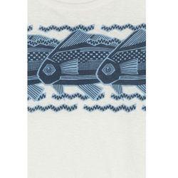 Printed Linen T-Shirt Gr. XS