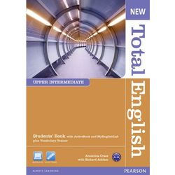 New Total English upper-intermediate Student's book with active and MyEnglishLab plus Vocabulary Trainer+Cd (opr. miękka)