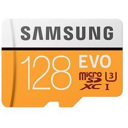 Samsung 128GB, MicroSDXC EVO 128GB MicroSDXC UHS-I Klasa 10 pamięć flash