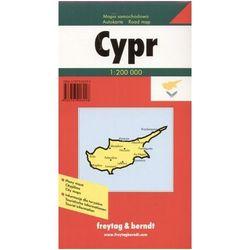 Cypr. Mapa samochodowa