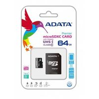 A-Data Premier micro SDXC 64GB UHS-1/C10 + ad