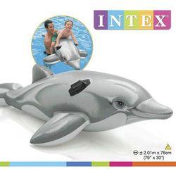 Intex, Dmuchana zabawka do pływania, Delfin Darmowa dostawa do sklepów SMYK