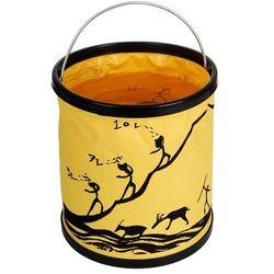 Bushmen 11 litrowe składane wiadro turystyczne żółte - Gwarancja terminu lub 50 zł! - Bezpłatny odbiór osobisty: Wrocław, Warszawa, Katowice, Kraków