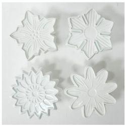 WYKRAWACZ LUKRU DO CIASTA TORTU- 4 kwiatki
