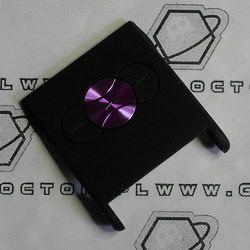 Obudowa Sony Ericsson W350i przednia klapka czarna fioletowe klawisze