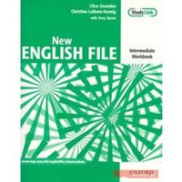 New English File Intermediate Workbook + płyta CD (opr. broszurowa)