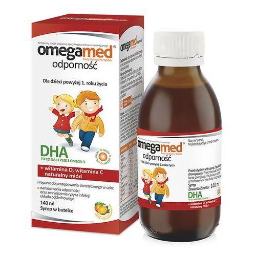 Omegamed Odporność syrop 140 ml