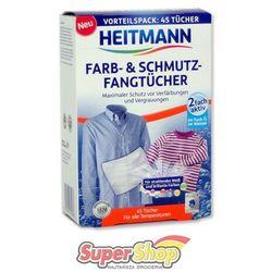 Heitmann chusteczki wyłapujące kolor i brud 45 szt.