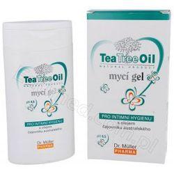 Tea Tree Oil - Żel myjący do higieny intymnej z olejkiem z drzewa herbacianego - 200 ml