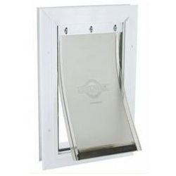 Białe aluminiowe drzwi 600 1 szt.