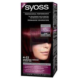 Syoss Farba do włosów 4-22 Szkarłatna Czerwień