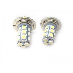 Żarówka LED #LJ10 white H7-5050-18