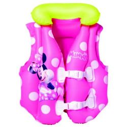 Bestway, Myszka Minnie, dmuchana kamizelka do nauki pływania, 51x46 cm Darmowa dostawa do sklepów SMYK