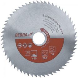 Tarcza do cięcia DEDRA HS35060 350 x 30 mm do drewna stalowa