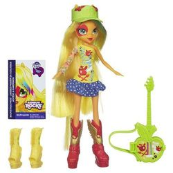 My Little Pony Equestria Girls Applejack z gitarą