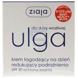 Ziaja Ulga dla skóry wrażliwej Krem łagodzący na dzień 50 ml