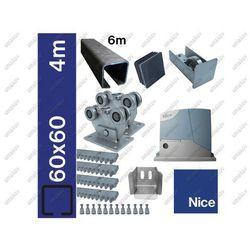 Zestaw do bram przesuwnych NICE 60x60mm