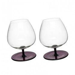 Sagaform Sagaform Bujające kieliszki do brandy purpura 400 ml