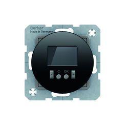 Regulator temp. ze sterownikiem czasowym ze stykiem zmiennym czarny Berker seria R - 20452045