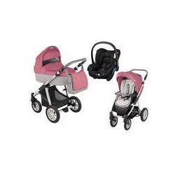 Wózek wielofunkcyjny 3w1 Lupo Dotty Baby Design + Citi GRATIS (różowy)