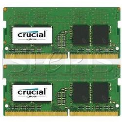 Pamięć RAM Crucial 2x8GB DDR4 SODIMM 2400MHz CL17 1.2V - CT2K8G4SFS824A