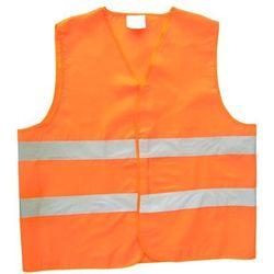 Kamizelka ostrzegawcza Carcommerce, uniwersalny pomarańczowy