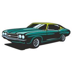 Naklejka kolorowa samochód 128